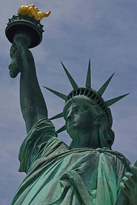 Liberty Island Digital Art - The Statue Of Liberty Nyc by Toby McGuire