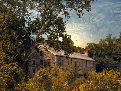 Old Mills Photograph - The Stone Mill by Jessica Jenney