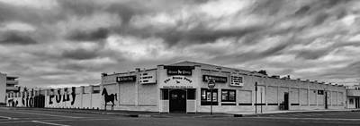 The Stone Pony Asbury Park New Jersey Black And White Print by Terry DeLuco