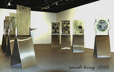 Instillation Painting - the Story of a River by Sarah King