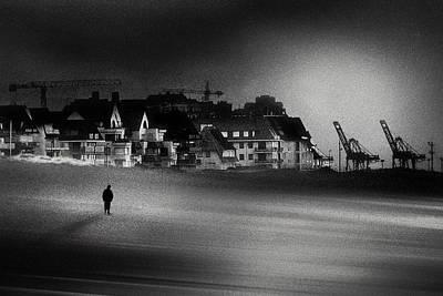 Harbor Photograph - The Stranger by Piet Flour