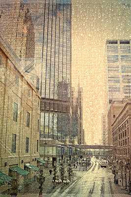 The Streets Of Minneapolis Print by Susan Stone