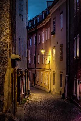 Hallstatt Photograph - The Streets Of Salzburg by David Morefield