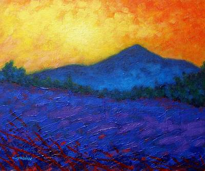 Christmas Greeting Painting - The Sugar Loaf - County Wicklow by John  Nolan