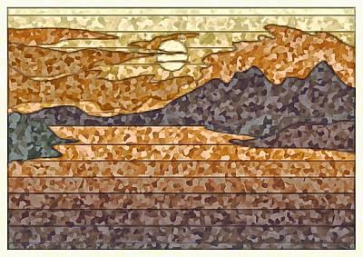 Digital Art - The Sun Always Shines by Mario Carini
