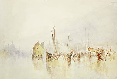 Italian Landscape Painting - The Sun Of Venice by Joseph Mallord William Turner