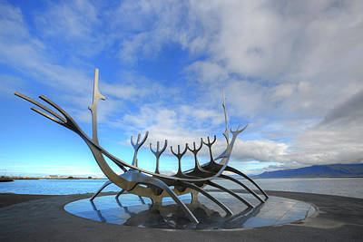 The Sun Voyager - Reykjavik Print by Joana Kruse