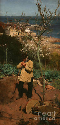 The Sunny South Print by Walter Langley