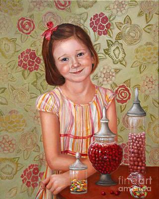 Candy Painting - The Sweet Sneak by Enzie Shahmiri