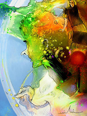 Dreamscape Mixed Media - The Sweeties 01 by Miki De Goodaboom