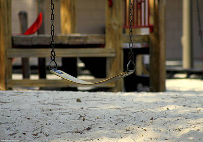 Missing Child Photograph - The Swing by Debra Forand