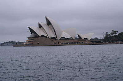 Realism Photograph - The Sydney Opera House  by Brian Leverton