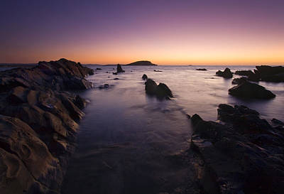 Fleurieu Peninsula Photograph - The Teeth Of Twilight by Mike  Dawson
