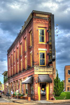 The Terminal Brewhouse Stong Building Chattanooga Tn Print by Reid Callaway