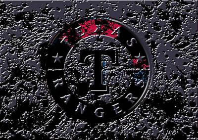 The Texas Rangers 1a Print by Brian Reaves