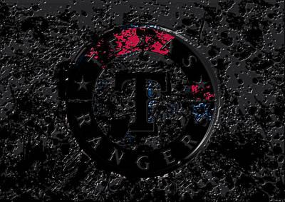The Texas Rangers 1c Print by Brian Reaves