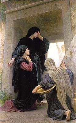 The Three Marys At The Tomb Print by William Bouguereau