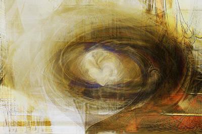 Abstarct Digital Art - The Tide Of The Heart by Linda Sannuti