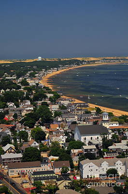 The Tip Of Old Cape Cod Print by Catherine Reusch  Daley