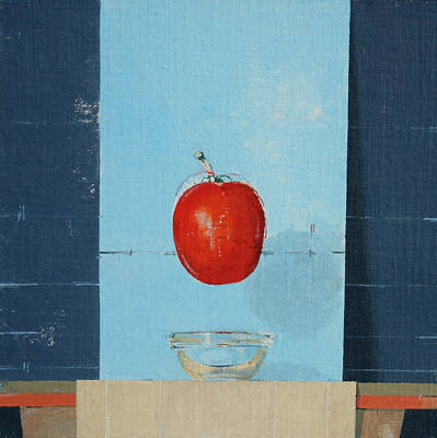 Tomato Painting - The Tomato by Charlie Millar