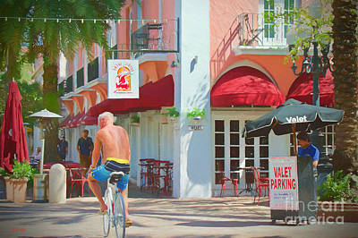Bar Painting - The Tour by Judy Kay