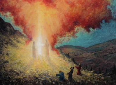 Transfiguration Painting - The Transfiguration Of Christ by Earl Mott