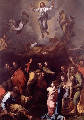 Transfiguration Painting - The Transfiguration  by Raphael
