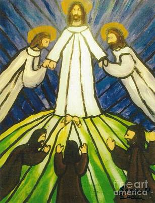 Transfiguration Painting - The Transfiguration by Seaux-N-Seau Soileau