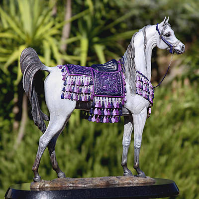 Bronze Sculpture - The Treasure by J Anne Butler