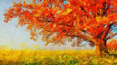 The Tree Of Beautiful Silence - Painting  Original by Sir Josef Social Critic - ART
