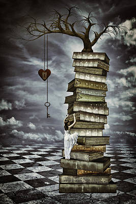 Reaching Up Digital Art - The Tree Of Love by Mihaela Pater