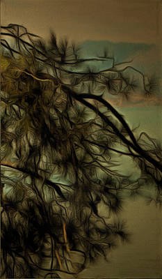 The Tree Triptych 3 Print by Dorothy Berry-Lound