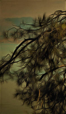The Tree Triptych Panel 1 Print by Dorothy Berry-Lound