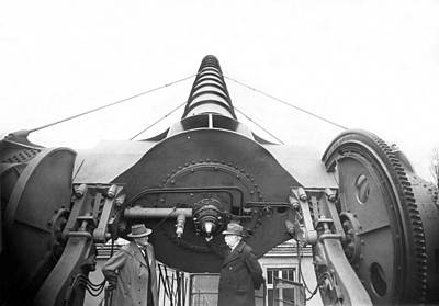 The Treptow Giant Telescope Print by Underwood Archives