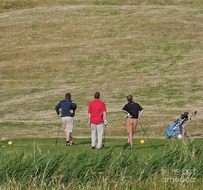 The Trials And Tribulations Of Golf Print by Terri Waters