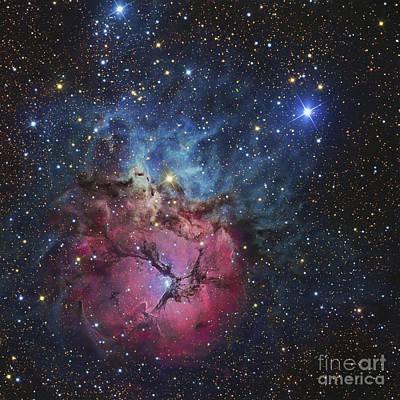 The Trifid Nebula Print by R Jay GaBany