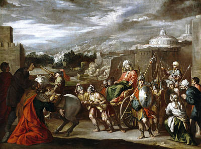 Painting - The Triumph Of Joseph In Egypt by Antonio del Castillo y Saavedra