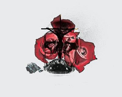 The Triune Rose Print by John Feiser
