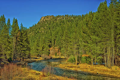 The Truckee River Print by Mountain Dreams