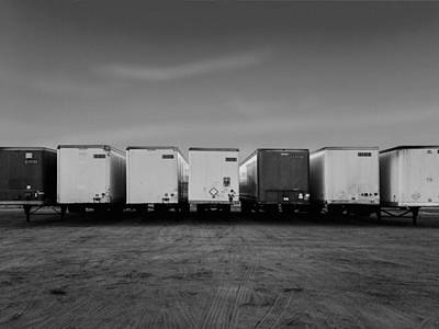 Palm Springs Convention Center Photograph - The Trucks by Stan  Magnan