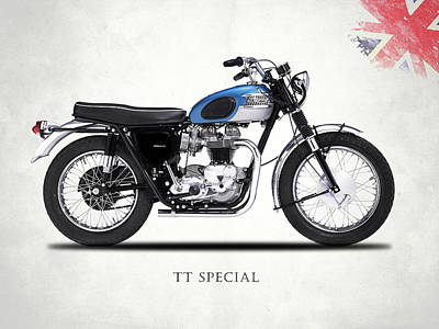 Motorcycle Photograph - The Tt Special 1965 by Mark Rogan