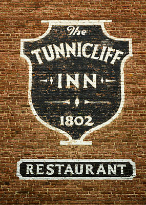 The Tunnicliff Inn - Cooperstown Print by Stephen Stookey