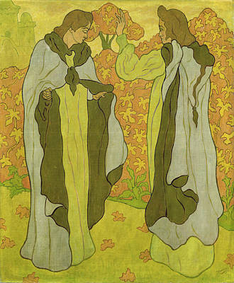 Early Painting - The Two Graces by Paul Ranson