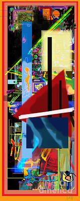 Tzaddik Digital Art - The Tzaddik Lives On Emunah 18 by David Baruch Wolk