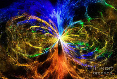 The Umbilical Cord Of The Universe Original by Sergey Lukashin