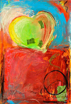The Unrestricted Heart 5 Print by Johane Amirault
