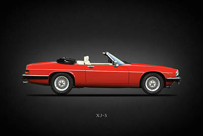 The V12 Xj-s Print by Mark Rogan