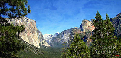 Cathedral Rock Photograph - The Valley Of Inspiration-yosemite by Glenn McCarthy Art and Photography
