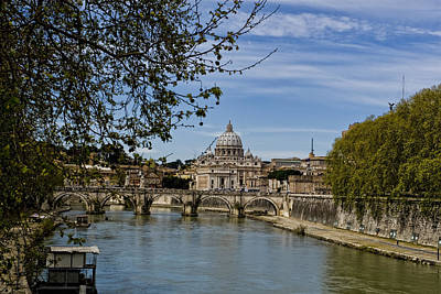 Sistine Photograph - The Vatican By Day by Michelle Sheppard