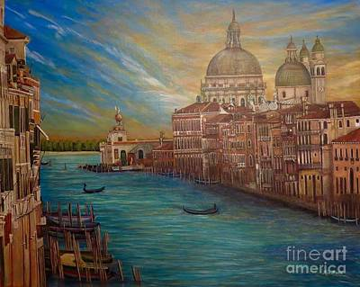 The Venice Of My Recollection  Original by Kimberlee Baxter